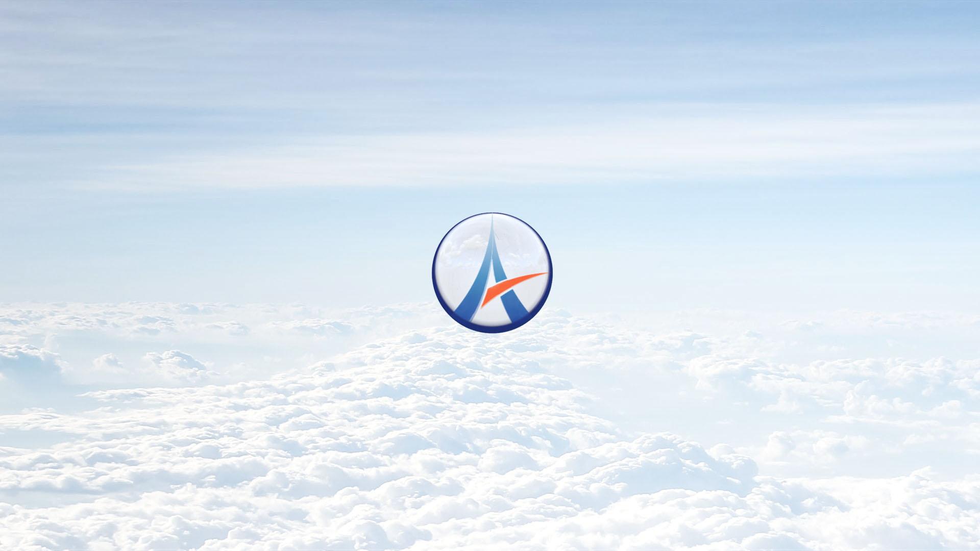 Ascendant Studio logo over clouds
