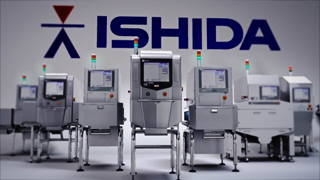 Animation of the fleet of xray weighers that Ishida has on offer