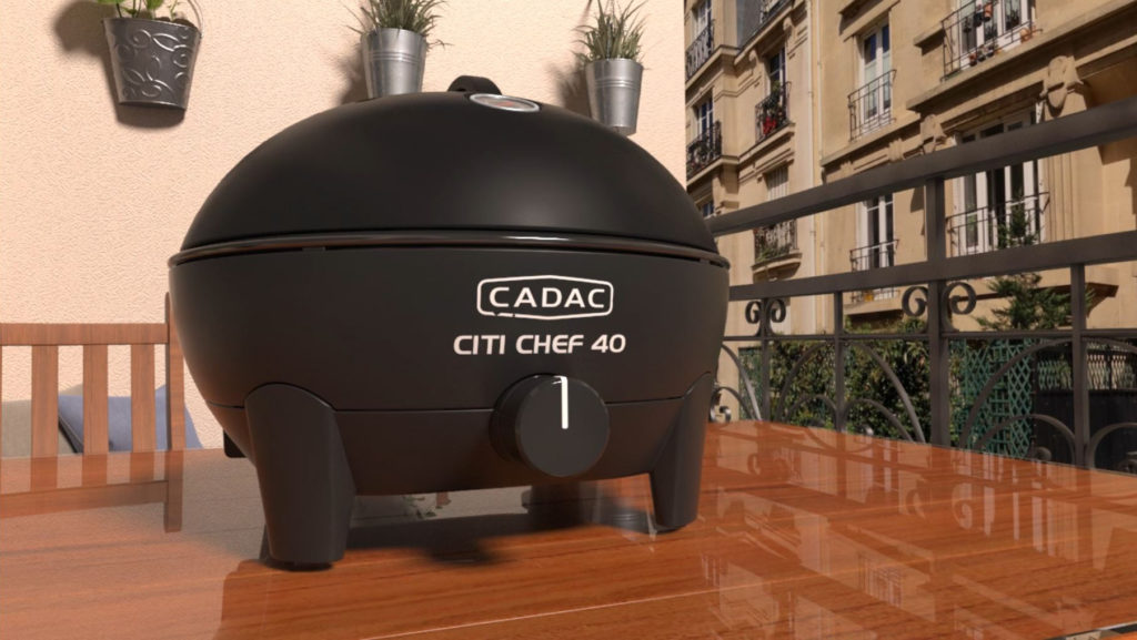 3D model of a Citi Chef 40 from the animated promotional video from Cadac