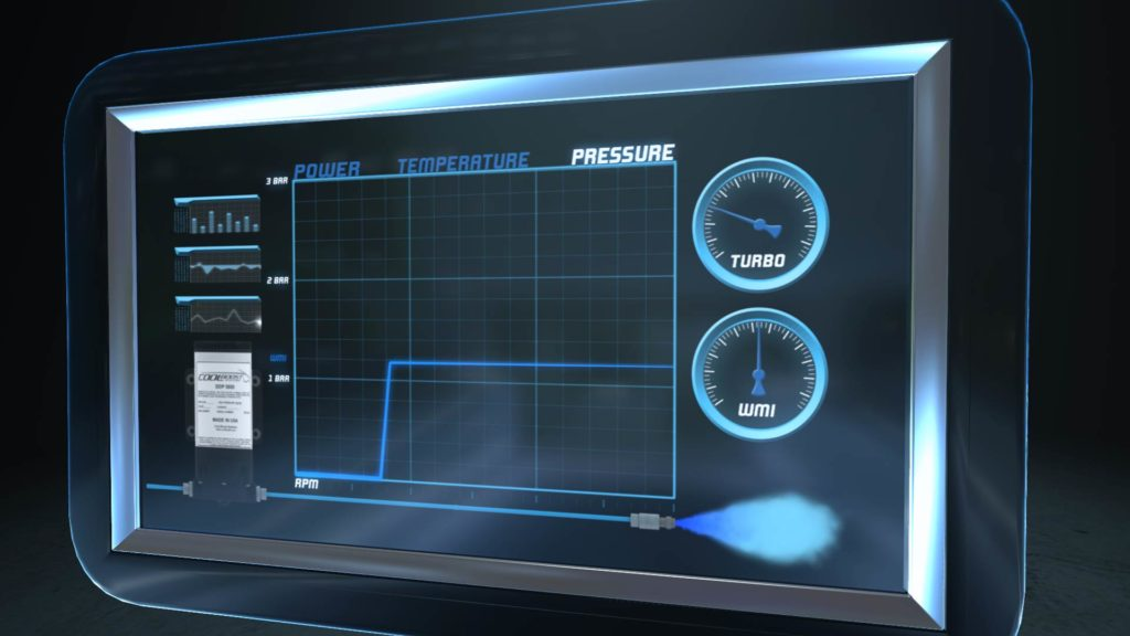 3D Tablet displaying the progressive injection graph from the progressive injection explainer video