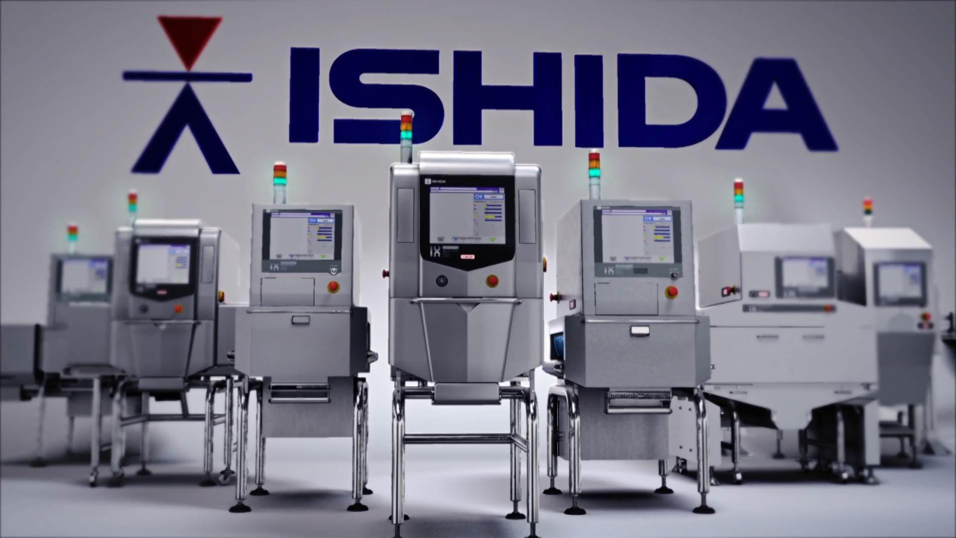 3D rendering of Ishida X-ray product range